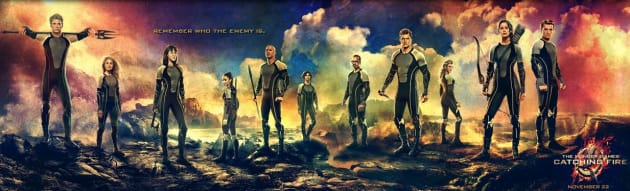 Catching Fire Victors Banner