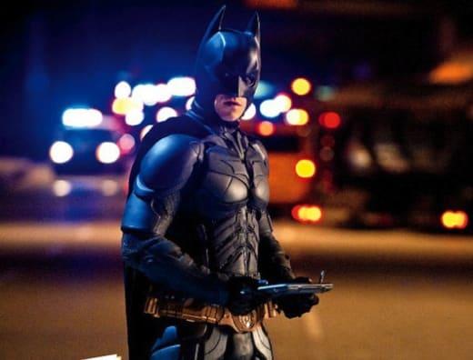The Dark Knight Rises: Christian Bale
