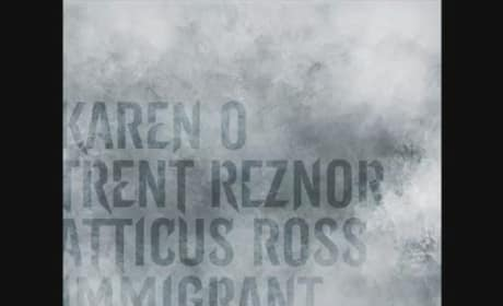 The Girl with the Dragon Tattoo: Trent Reznor Releases Karen O Immigrant Song