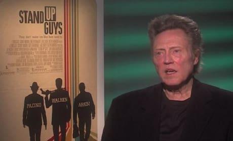 Stand Up Guys Exclusive: Al Pacino & Christopher Walken Talk Tough