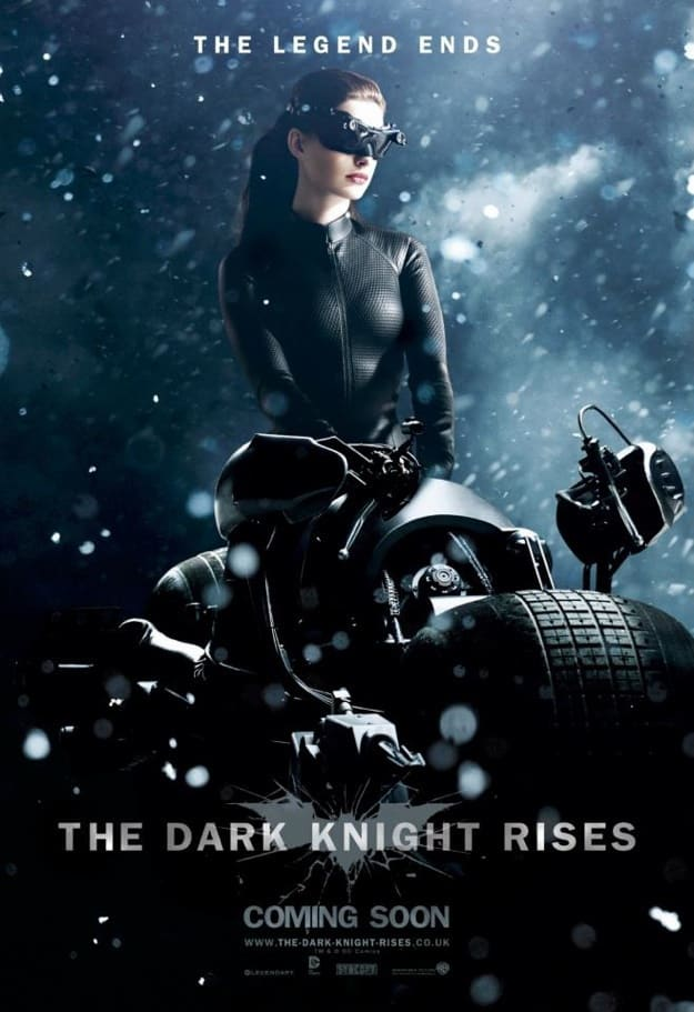 The Dark Knight Rises Snow Character Poster: Catwoman