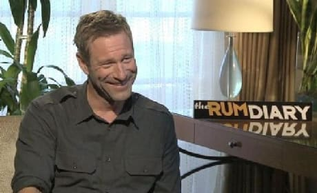The Rum Diary Exclusive: Aaron Eckhart on Johnny Depp and His Killer Career