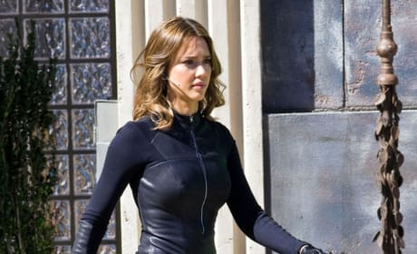 Jessica Alba Spy Kids Set 4