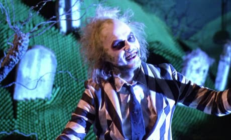 Michael Keaton Stars as Beetlejuice