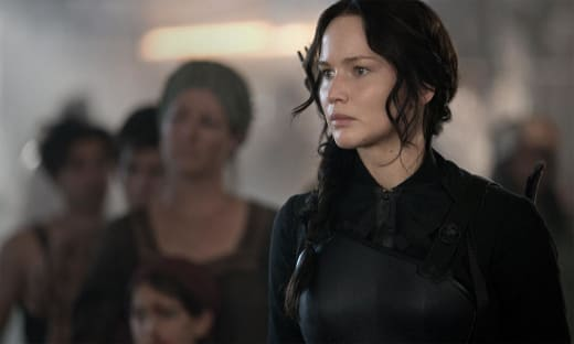 Jennifer Lawrence Mockingjay Part 1