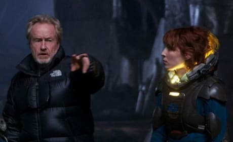 Prometheus' Ridley Scott Speaks: On Alien & Deep Space Horror