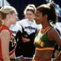Cheerleaders Talk Smack