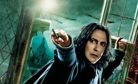 Snape Looks Scared