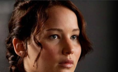 Jennifer Lawrence is Katniss