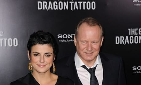 Stellan Skarsgard at The Dragon Tattoo Premiere