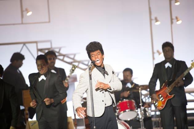 Chadwick Boseman Stars As James Brown Get On Up