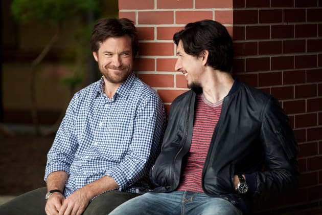 Jason Bateman and Adam Driver