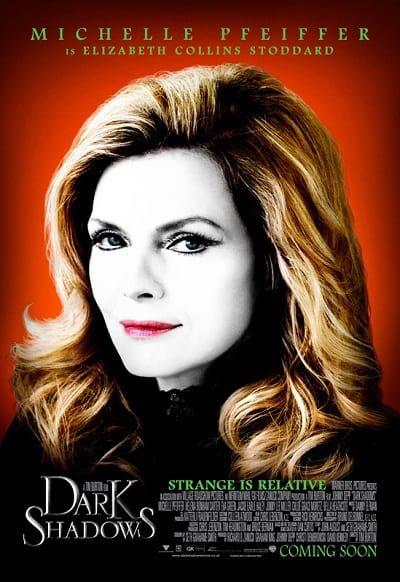 Michelle Pfeiffer Dark Shadows Character Poster