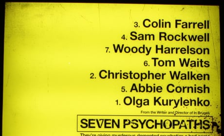 Seven Psychopaths Featurette: It Slaps You in the Face