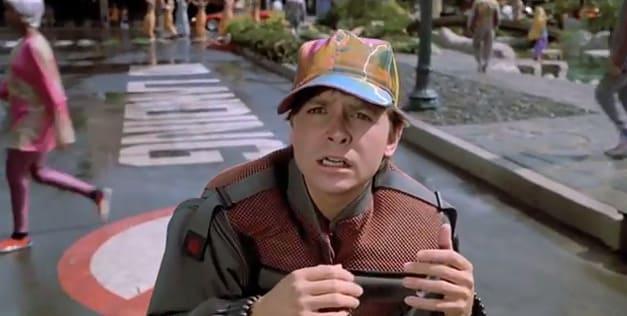 Back to the Future Part II Michael J Fox