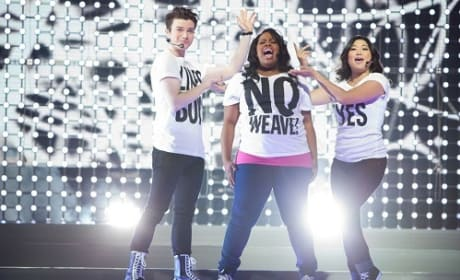 Glee 3D Concert Pic