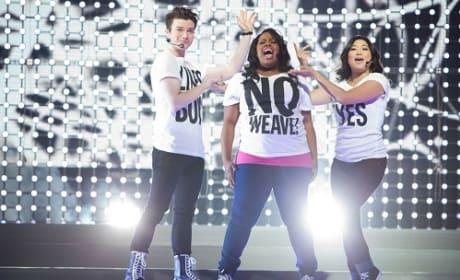 Glee 3D Concert Pic