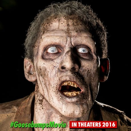 Goosebumps Zombie Photo