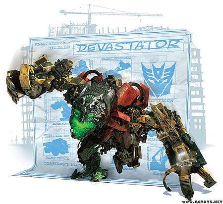 Devastator Toy