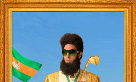 The Dictator: Sacha Baron Cohen's Latest Portraits, Oscar Trouble