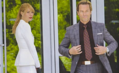 Gwyneth Paltrow Guy Pearce Iron Man 3