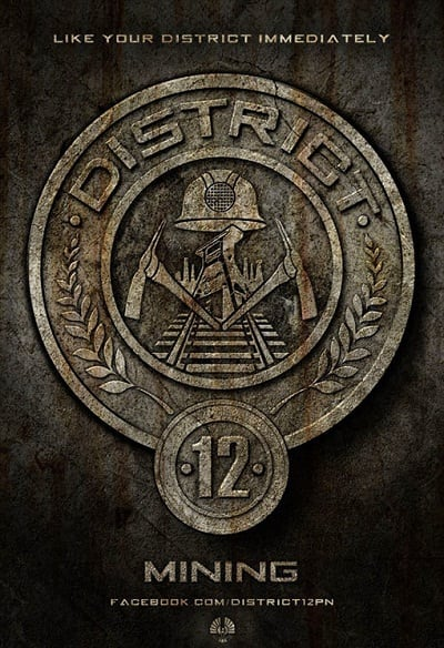 The Hunger Games: Mining Badge