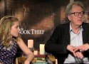 The Book Thief Exclusive: Geoffrey Rush & Sophie Nelisse Talk First Impressions