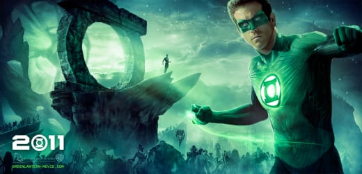 Green Lantern Billboard Poster