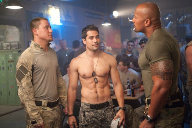 G.I. Joe Retaliation Channing Tatum, D.J. Cotrona, Dwayne Johnson