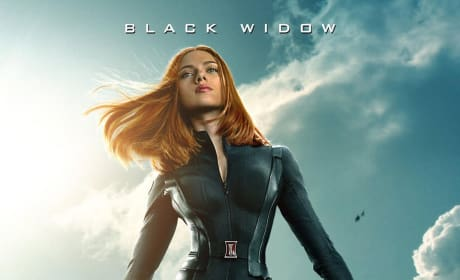 Captain America The Winter Soldier Black Widow Poster