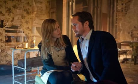 Alexander Skarsgard Brit Marling The East