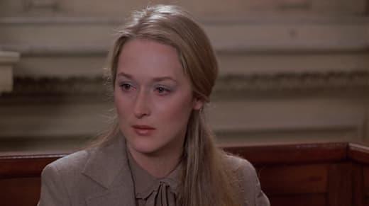 Meryl Streep in Kramer vs. Kramer