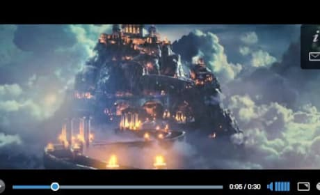 Percy Jackson Character Video