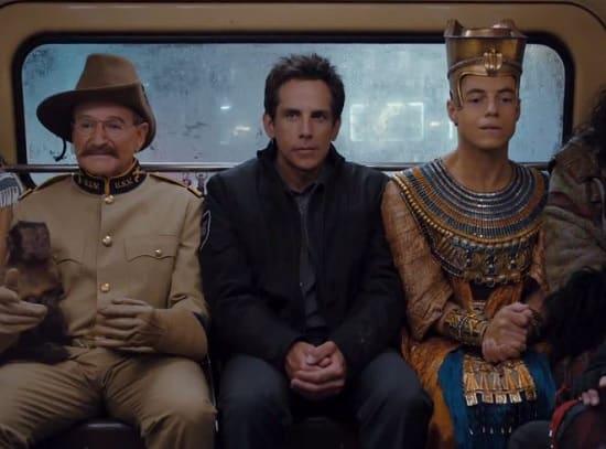 Night at the Museum Secret of the Tomb Robin Williams Ben Stiller
