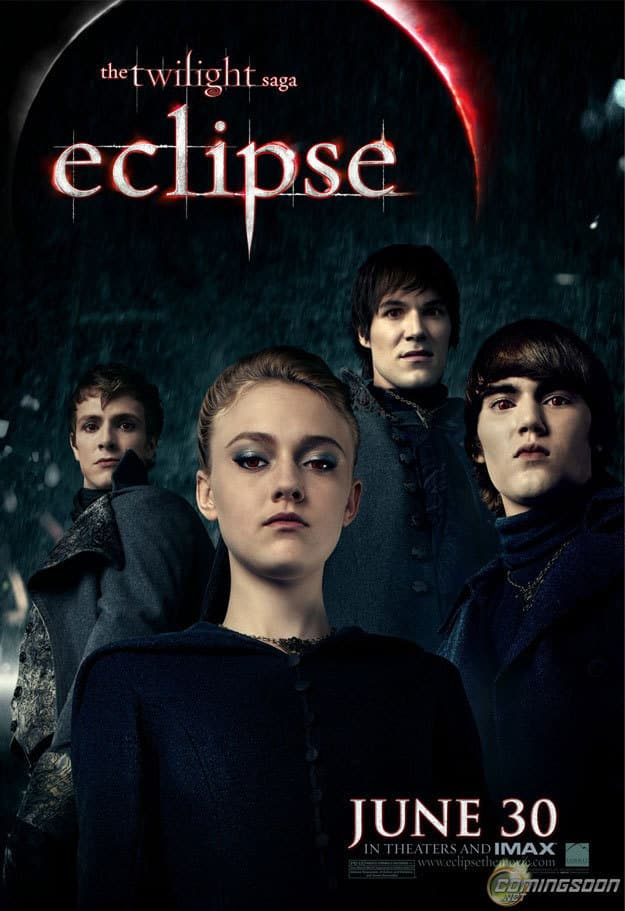 Eclipse Banner: Jane and The Volturi