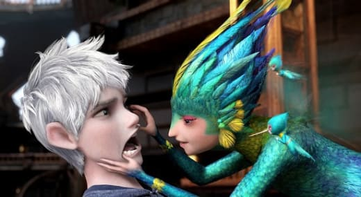 Chris Pine and Isla Fisher Rise of the Guardians