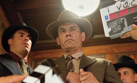 Gangster Squad Set Photos: Take a Look Behind the Scenes