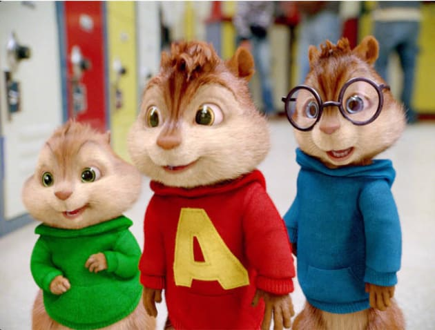 The Chipmunks Go to School