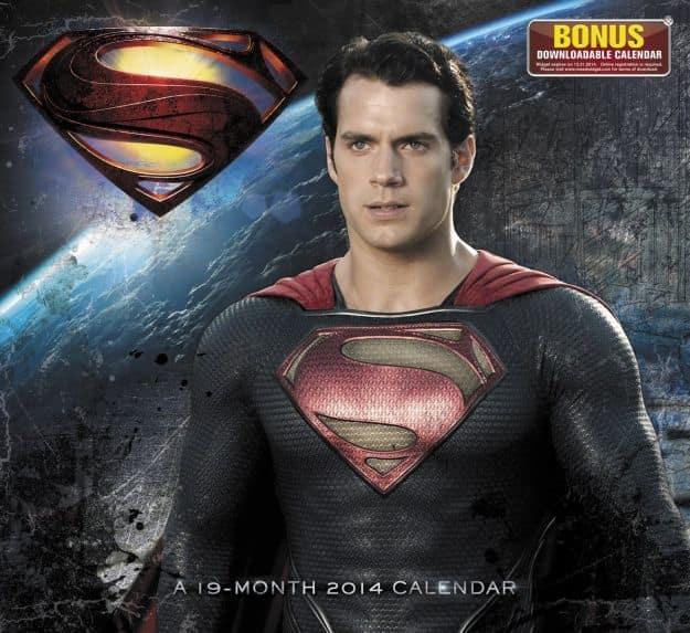 Man of Steel Calendar Cover