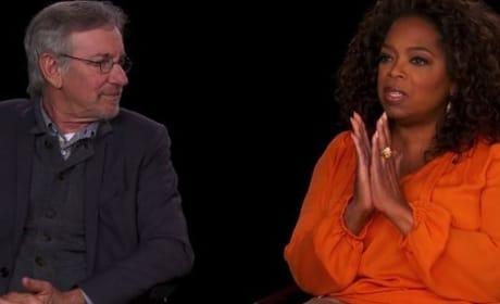 The Hundred-Foot Journey: Steven Spielberg & Oprah Winfrey Talk Collaboration