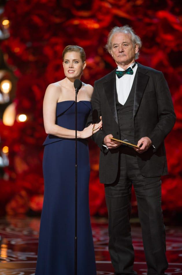 Bill Murray Amy Adams Oscars