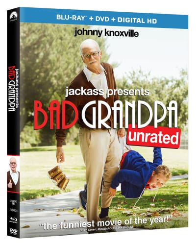 Bad Grandpa Blu-Ray