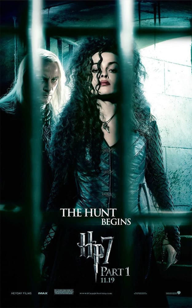 HP7 Bellatrix Full Poster