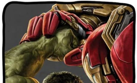 Avengers Age of Ultron Promo Art Inside Hulkbuster Fighting Hulk