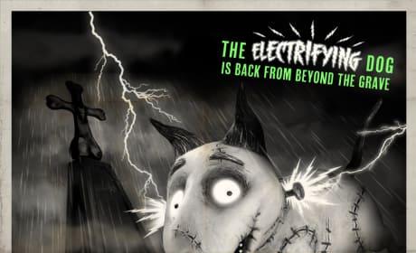 Frankenweenie Sparky's Return Monster Poster