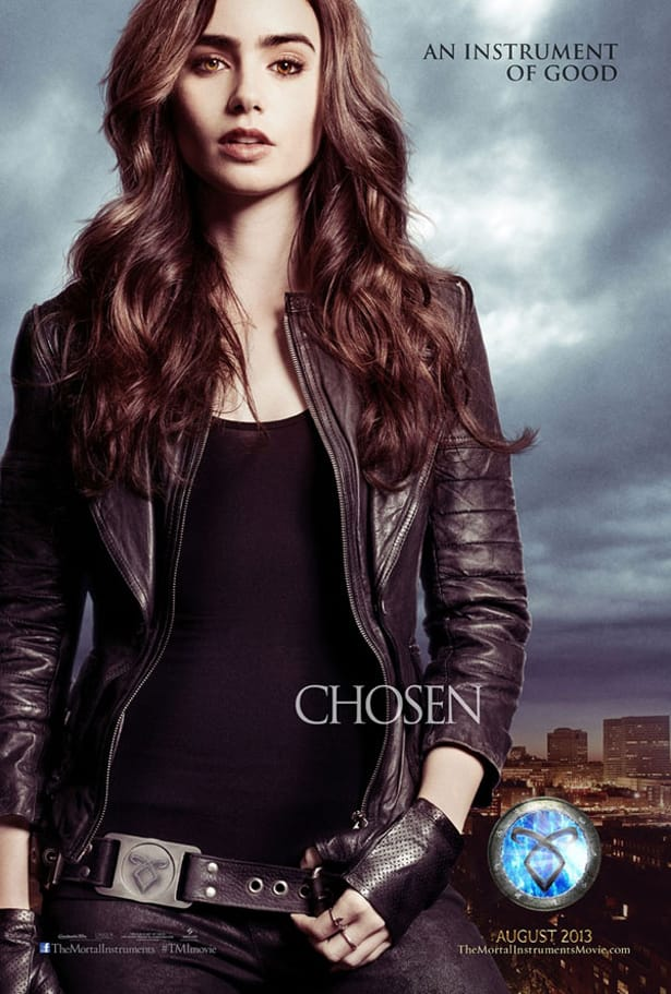 The Mortal Instruments: City of Bones Lily Collins Poster