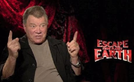 Escape from Planet Earth: William Shatner Loves Being Bad