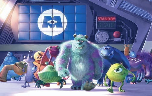 The Cast of Monsters, Inc