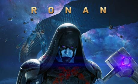 Guardians of the Galaxy Ronan the Accuser Poster