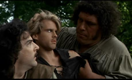 The Princess Bride Cary Elwes Andre the Giant